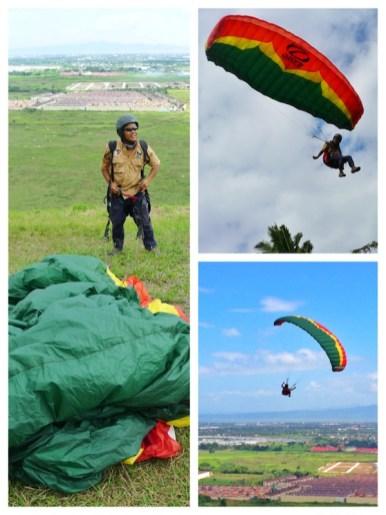 Paragliding in Carmona Cavite