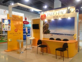 Boracay Booth at the Travel Tour Expo