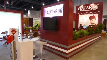 Qatar Airways Booth