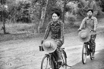 Japanese Bicycles in Bagan