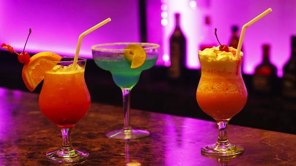 Cocktails at Prism Lounge