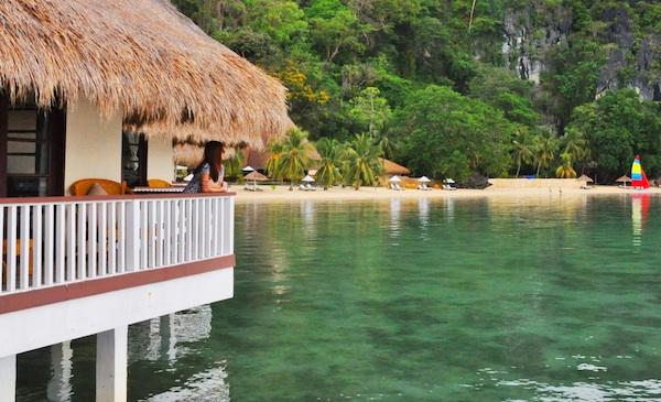 Water Cottage in Apulit Island Resort