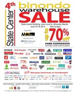 2013 Binondo Bodega Sale