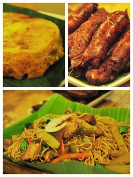 Famous Food in Lucban - Hardinera, Longanisa and Pancit