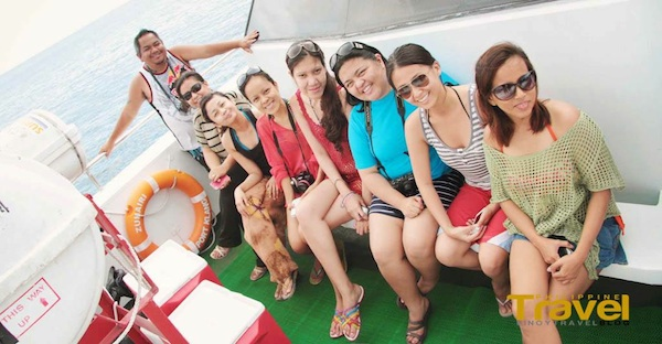 On our way to Manukan Island