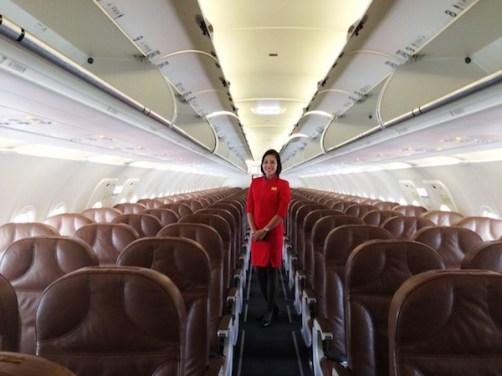 Zest Air Flight Attendants
