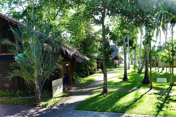 A Resort inside a beautiful garden