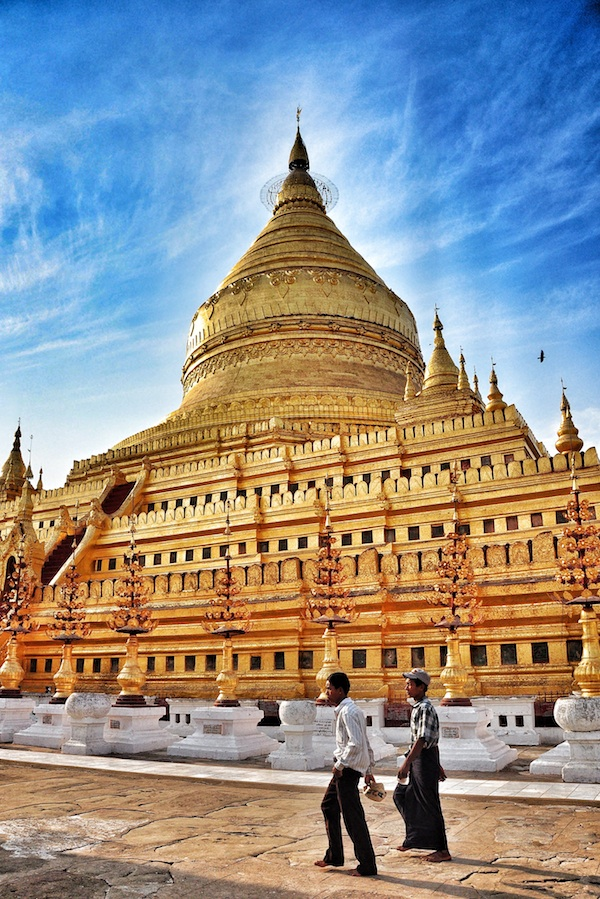 Golden Pagoda in Old Bagan
