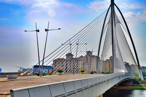 Beautiful Bridge in Putrajaya City