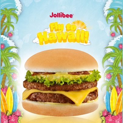 Grab an Amazing Aloha Burger now for a chance to go to Hawaii