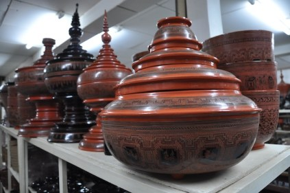 High Quality Lacquerware in Old Bagan