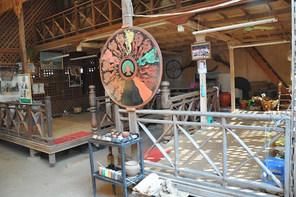 Lacquerware Making Facility in Old Bagan