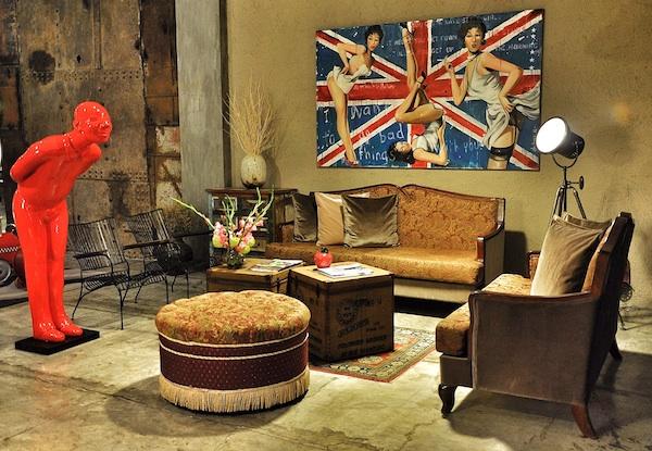Sofa at The Henry Lobby
