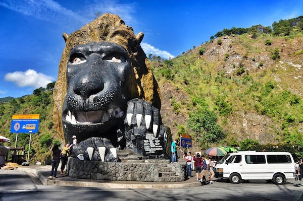 The Lion Head in Baguio City