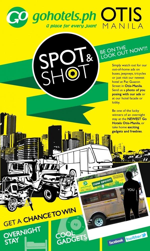 Go Hotels Otis Manila Contest