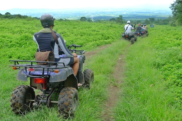 ATV Adventure in Mount Isarog National Park ATV To Malabsay Falls
