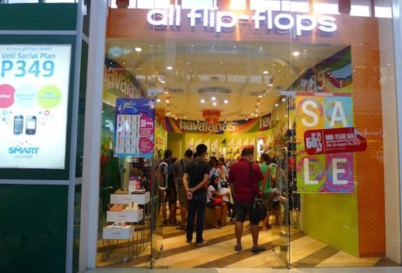 All Flip Flops in SM Naga City