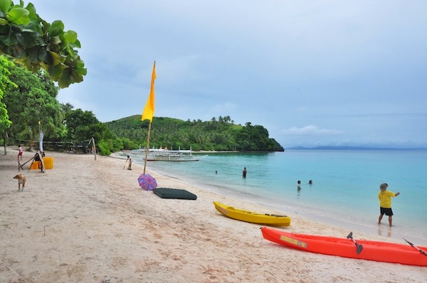 Beautiful Subic Beach in Matnog Sorsogon