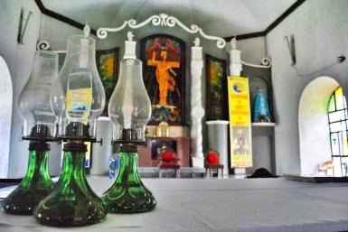 Inside Daraga Church