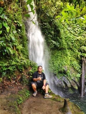 Melo Villareal in Malabsay Falls