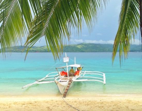 Pink Sand Beach in Tikling Island