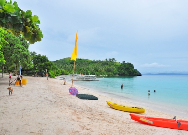 Subic Beach in Calintaan Island
