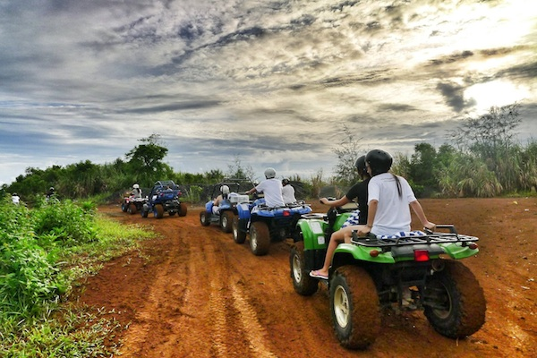 ATV Ride in Misibis