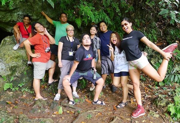 Another Group Shot at Hoyop-Hoyopan Cave