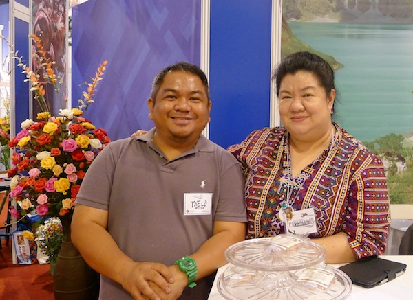 Melo Villareal with Assist DOT Region 3 Director Leona Nepomuceno