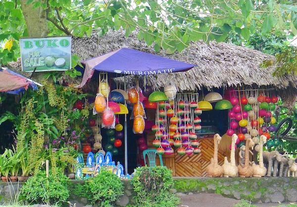 Souvenir Shops in Cagsawa Ruins