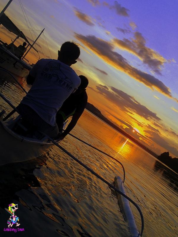 Sunset in Baclayon Bohol