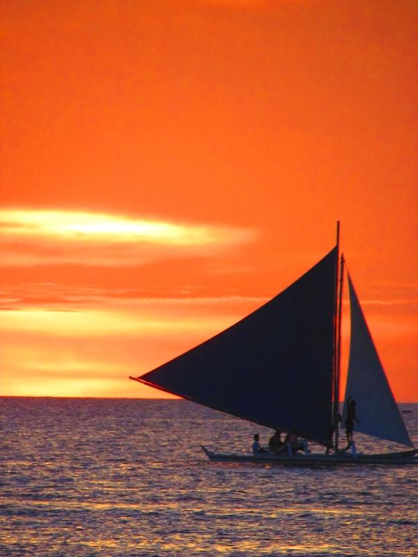 Sunset in Boracay