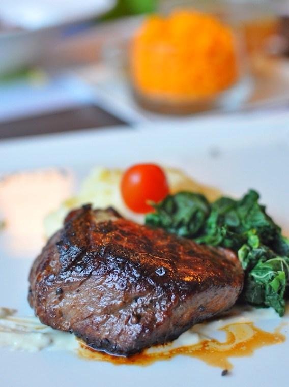 Tenderloin Steak with Blue Cheese