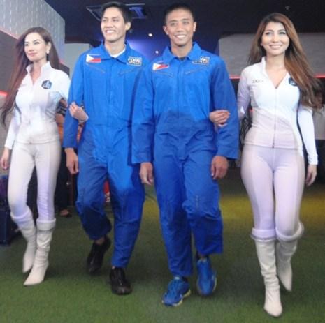 Top two Pinoy Astonaut