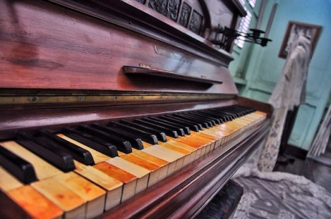 100 Year Old Steinway Piano