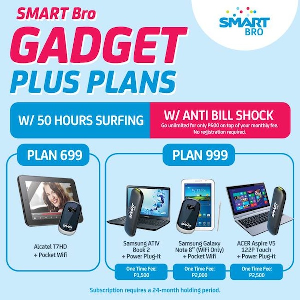 Smart Bro Gadget Plus Plans