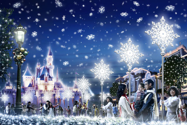 Christmas In Disneyland Hong Kong.Christmas Gets Merrier At The Expanded Hong Kong Disneyland