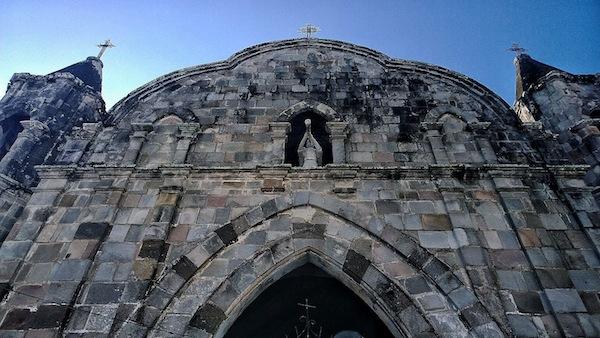 Facade of Tayabas Cemetery Chapel