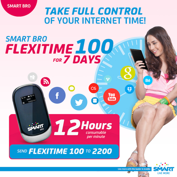Smart Bro Flexitime Load Products