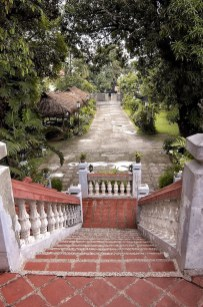 Staircases leading to the Main Door