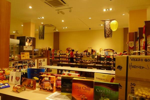 Inside Chocolate Shop in Kota Kinabalu