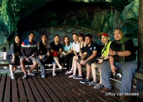 Inside Niah Cave