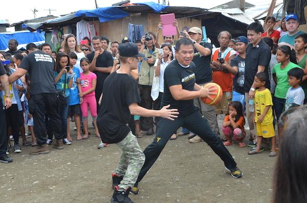 Justin Bieber photos in Tacloban City