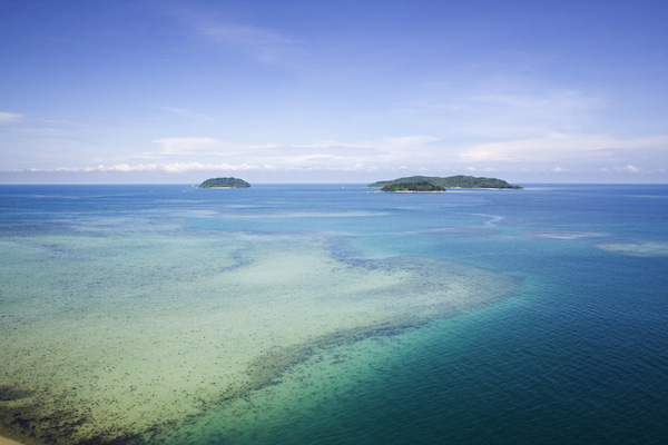 Tunku Abdul Rahman Marine Park in Kota Kinabalu Sabah Malaysia