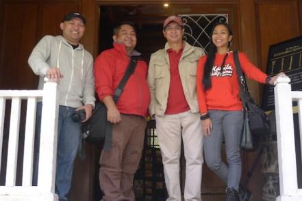 Travel Bloggers with Mr. Ed Manda