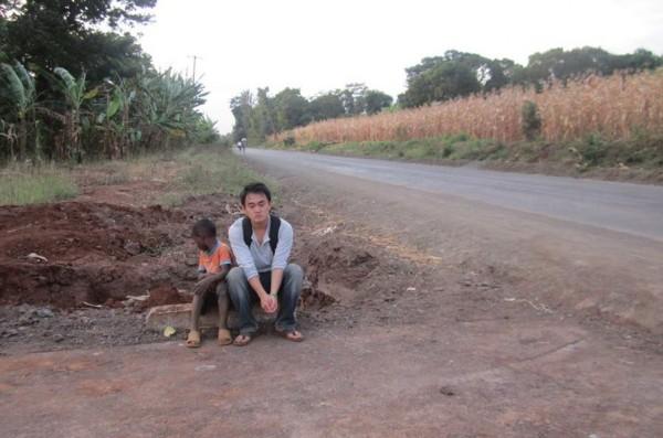 Brendan Lee in Tanzania