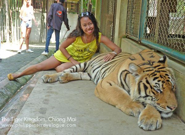 Brenna Bustamante in Chiang Mai Thailand