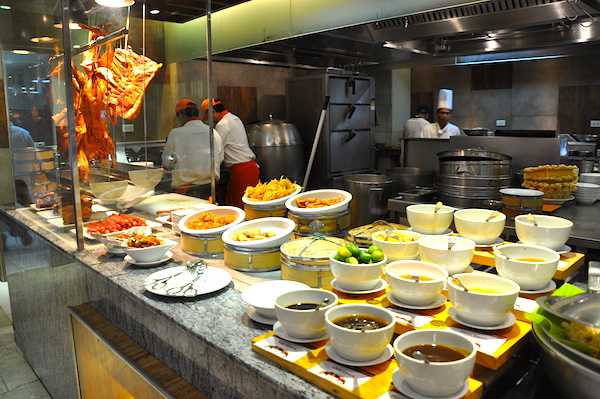 Dimsum Buffet Area