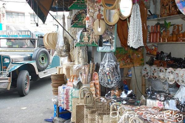 Philippine Jeepney near Quiapo Souvenir Shops