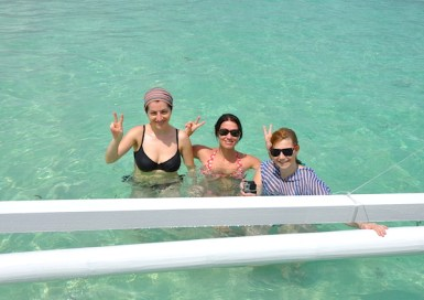 Sandra Clelia and Sab in Naked Island